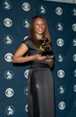 Yolanda adams feb gospel singer at the nd annual grammy awards in los angeles paul smith featureflash Royalty Free Stock Photo