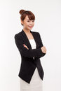 Yong pretty Asian business woman Royalty Free Stock Image