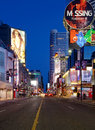 Yonge St. in Toronto Royalty Free Stock Images