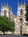 York Minster Photographie stock