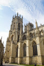 York minster cathedral one of the largest of it s kind in northern europe Royalty Free Stock Photo