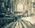 York Minster Choir Bench