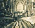 York Minster Choir Bench HDR