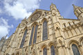 York Minster en Angleterre Photo stock