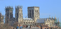 York minster england an ancient medieval church with some of the best medieval stained glass in europe Royalty Free Stock Photography