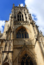 York minster england a cathedral in Stock Photo