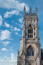 York minster england main tower Stock Photography
