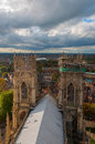 York minster england view from above Stock Images