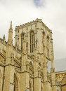 York minster an image of the main tower of the that is located in yorkshire england Stock Photos