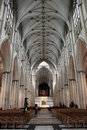 York Minster Nave, UK Royalty Free Stock Photo