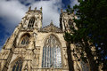York minster in the nice day Stock Photo