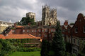 York minster a photo of the of Stock Photography