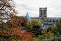 York minster a view of taken from the city walls Stock Photography