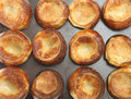 Yorkshire Puddings Stock Photography