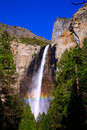 Yosemite bridalveil fall waterfall california national park Royalty Free Stock Image