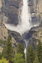 Yosemite Falls Ravine Royalty Free Stock Photo