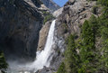 Yosemite Lower Fall Stock Images