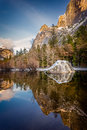 Yosemite mirror lake Royalty Free Stock Photo