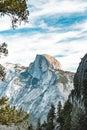 Scenic Landscape Of Yosemite&#...