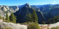Yosemite National Park California Panorama Stock Photos
