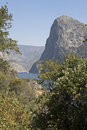 Yosemite national park california usa hetch hetchy reservoir Royalty Free Stock Photos