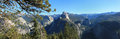 Yosemite National Park Panorama Royalty Free Stock Image