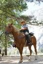 Yosemite National Park Ranger Royalty Free Stock Photo
