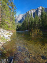 Yosemite National Park in Spring Royalty Free Stock Photos