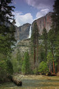 Yosemite National Park - Yosemite Falls Stock Images