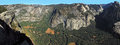 Yosemite Valley California Panorama Stock Image