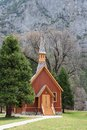 Yosemite Valley Chapel Royalty Free Stock Photo