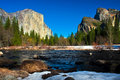 Yosemite Valley In Yosemite Na...