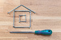 You can construct the house new Stock Images