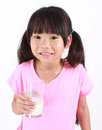 You got milk young girl drinking Stock Photo