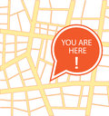 You are here Royalty Free Stock Photo