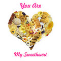 You Are My Sweetheart Royalty Free Stock Photos