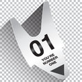 You Are Number One Ticket Concept Royalty Free Stock Photo