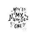 You`re my number one