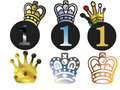 You re number one different types and representations different variants crowns all types are shown in white Stock Photography