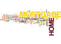 Are You Ready For A Home Mortgage Loan Word Cloud Concept Royalty Free Stock Photo