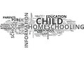Are You Ready To Homeschool Your Child Yet Word Cloud Royalty Free Stock Photo