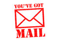 YOU`VE GOT MAIL Royalty Free Stock Photo