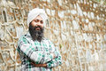 Young adult indian sikh man Stock Photo