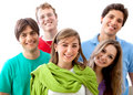 Young adults portrait Royalty Free Stock Image