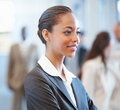 Young African American business woman Stock Images