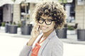 Young african american businesswoman. Royalty Free Stock Photo