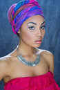 Young African beauty Royalty Free Stock Photo