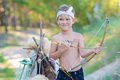 Young archer Royalty Free Stock Photo