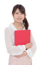 Young asian businesswoman holding file document Stock Photo