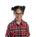 Young asian girl. Royalty Free Stock Photo